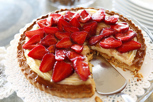 fyfatfood:  Strawberry cheesecake!