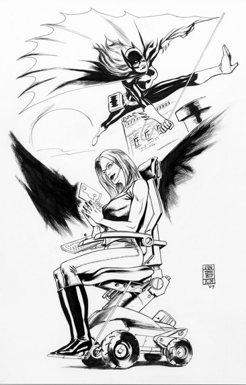 xombiedirge:  BatgirlNOracle by Jun Bob Kim  I love this! Why have I never seen it before? Why don't I own it?