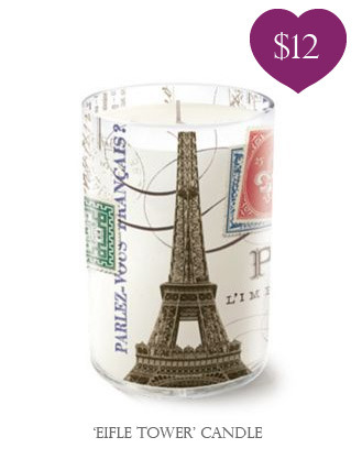 Bloomingdale's Eifle Tower Candle