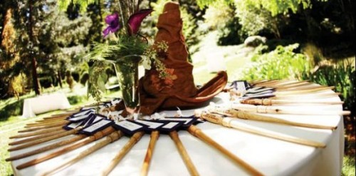 "Harry Potter Themed Weddings | The Mary Sue ""Dear hypothetical future fiance, I apologize in advance. Because I have just discovered a very dangerous thing: These couples had Harry Potter-themed weddings. And they were so badass."""