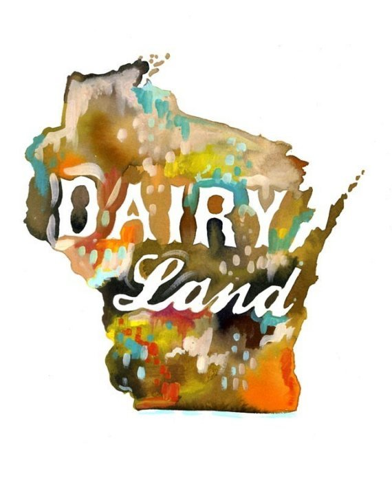 (via Dairy Land by thewheatfield on Etsy)