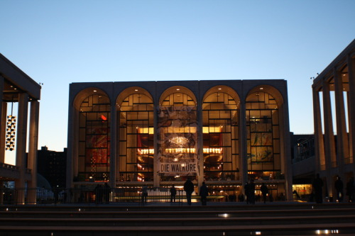 Daily Photo  Lincoln Center | for the Performing Arts Manhattan, New York