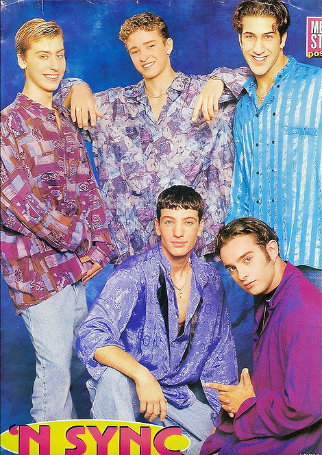 fuckyeahugly90sclothes:  *NSYNC (Thank you, imgur.com!)  how fabulous