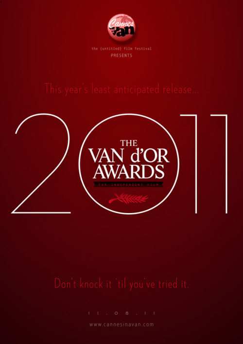 The Van d'Or Awards for independent film 2011