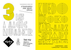 3 Is A Magic Number / 3 Years Standards BDay-SpeshFlyer2011