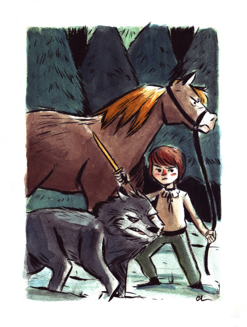 Everyone's favorite, Arya Stark!