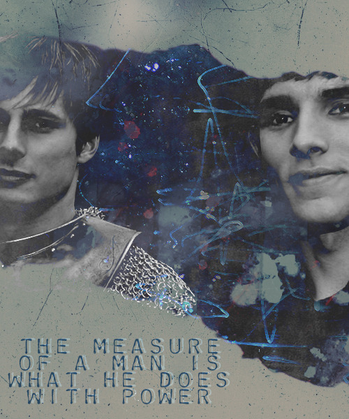 merthur:  by lasvegas-lights