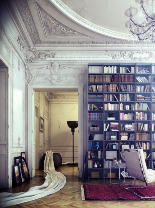 micasaessucasa:  (via Library Inspiration)