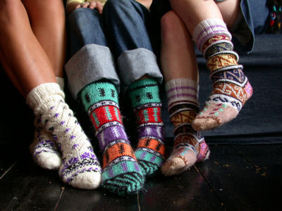 (via Turkish Colourful Socks : Lowie, Handmade woollen accessories and clothing - wanelo)