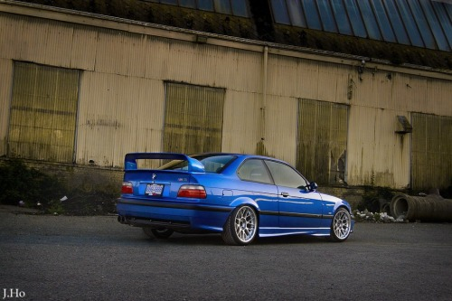 motorwerksmedia:  BMW E36 M3 on BBS RC   Reblogged on TumTum ♻