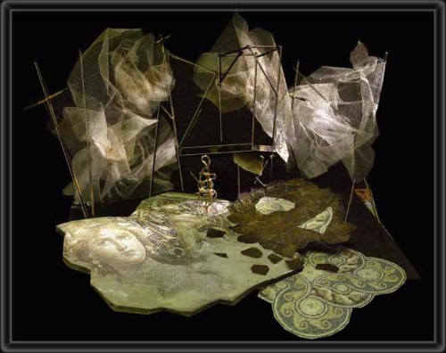 Medea Set Design by Richard Finkelstein (Source)