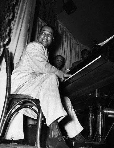 Duke Ellington, photographed by Gordon Parks in 1943.