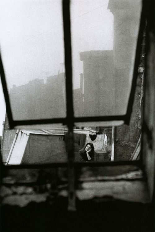Jeanloup Sieff, Michèle Girardon, Paris, 1956