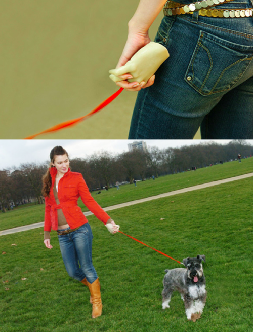 szymon:  pet plus - hand-shaped dog leash by Alice Wang