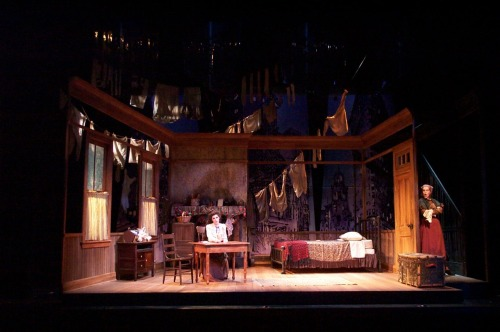 Della's Gift/Holy Night Set Design by Christopher McCollum (Source)