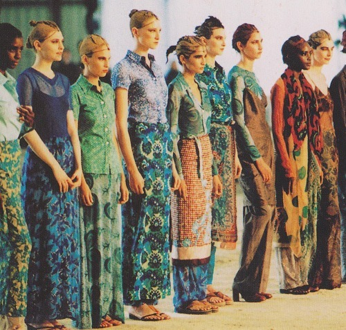 baudei:  Dries Van Noten, spring 1997.