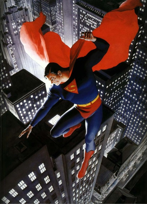 justanothercomicgeek:  by Alex Ross