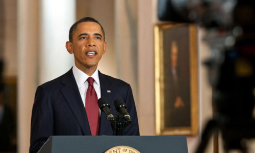 "Obama speech light on policy, heavy on politics We were planning on live-blogging  the President's primetime speech on the debt ceiling, but there wasn't much to live-blog about. He didn't support or reject any new policies, or endorse a specific strategy for raising the debt limit. Rather, the President doubled-down on the importance of avoiding default, reinforced hard distinctions between him and House Republicans, and make slight adjustments to his political positioning. He warned, in his most explicit language yet, of the consequences default would have for average Americans. He came out hard for progressive taxation, hammering the Republicans for refusing to consider raising taxes on the rich, and explicitly asked constituents to call their representatives in Congress and voice support for the White House's ""balanced."" In general, as was the case in his press conference last Friday, the President ended up sounding a whole lot more partisan than normal, but didn't deliver any game-changers. source Follow ShortFormBlog"