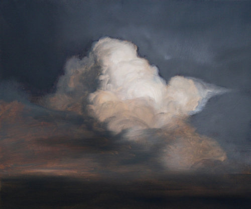 Stormy sky painting from Luckyhemlock.