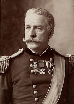 fuckyeahlatinamericanhistory:  Nelson A. Miles (1839-1925) was Commanding General of the United States Army during the Spanish-American War. A veteran of the US Civil War and the Indian Wars, Miles led the US invasion of Puerto Rico, landing in the town of Guánica on July 25, 1898.