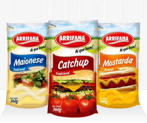Arrifana Food Industry / 2011 Visual Identity  for Product Lines