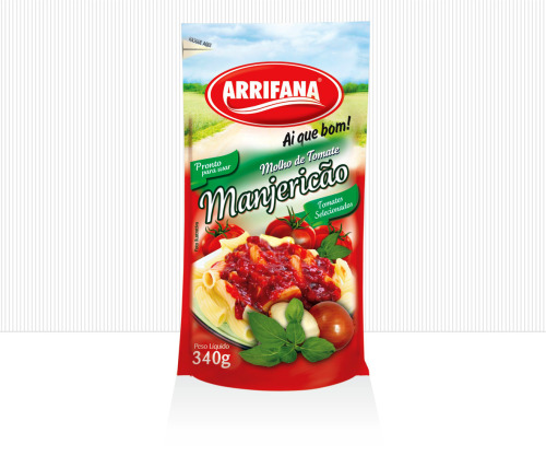 Arrifana Food Industry / New Visual Identity  for Tomatoes Sauce