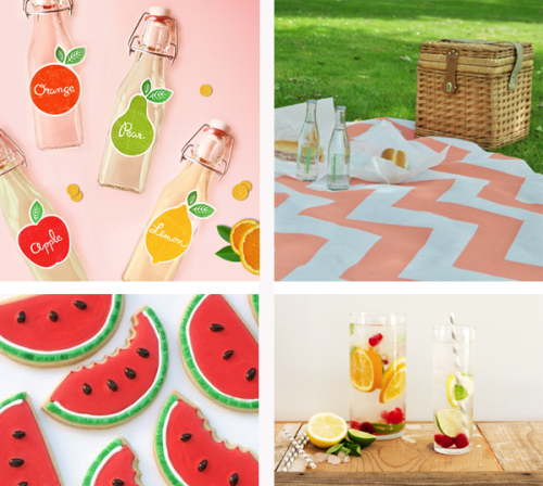 Feeling summerish? Head on for a picnic on this hot summer! :)
