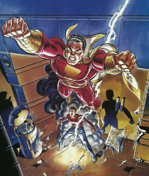 kellotriumphant:  The Power of Shazam! #1 - March, 1995