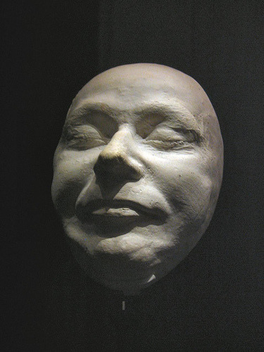 majestic-dork:  Death Mask:Heinrich Luitpold Himmler; 7 October 1900–23 May 1945. Smug even in his death. Commander of the  Schutzstaffel (SS) and one of the most powerful men in Nazi Germany.