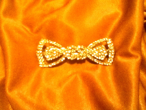 Bow #10: Another rhinestone bow…had to have it!