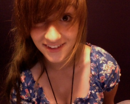My hair still tends to look ginger in most pictures.