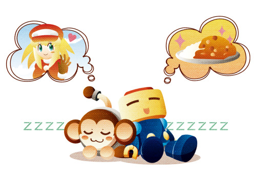 fyeahmegaman:  Data and Servbot take a nap. Sweet dreams, guys~