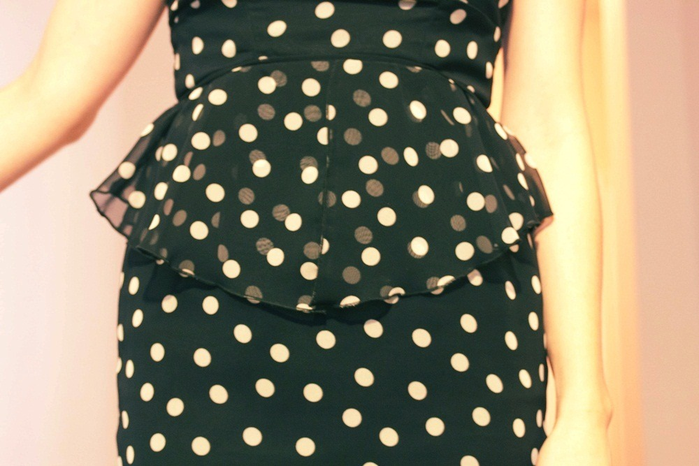Polka dots are one of my guilty pleasures.