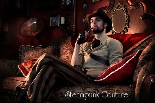 """Oh hello, Mister Brown"" by ByKato (Steampunk Couture) on deviantArt"
