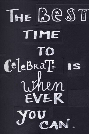 life-love-laughter:  celebrate! {via pinterest}