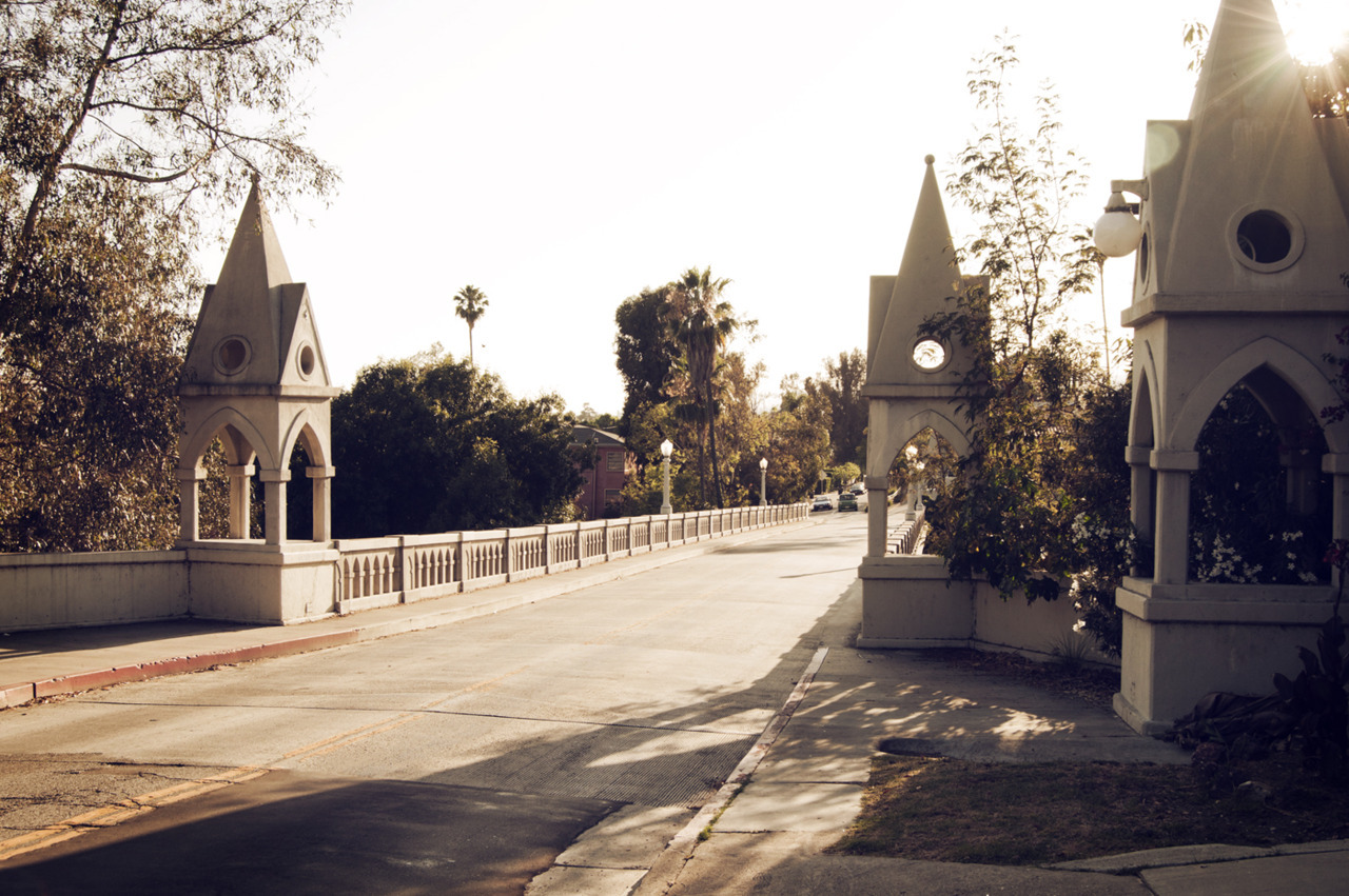 Shakespeare Bridge, Franklin Hills, Ca