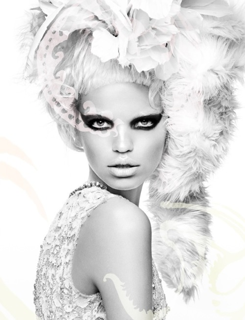oshbaby:  Magazine: Numéro No. 124 June/July 2011Model: Daphne GroeneveldPhotographer: Greg KadelStylist: Bill Mullen