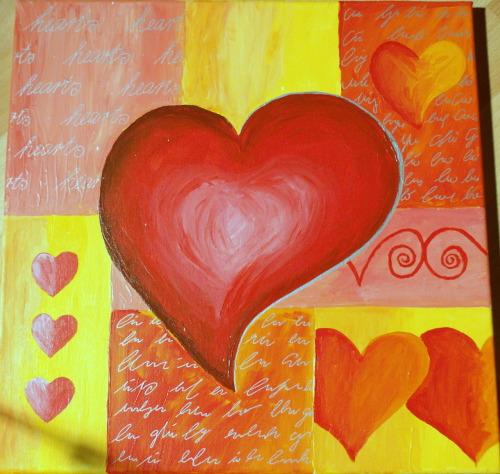 —decent Heart—Original Acrylgemälde - handsigniertes Unikat - handgemalt Wunderschönes Gemälde in Acryl auf Leinwand aufgezogen auf Keilrahmen versiegelt mit Schutzfirnis. Größe/Maße/GewichtBreite 40cm /Höhe 40cm/Tiefe 2cmVerwendete Materialien Acrylfarbe auf Keilrahmen/ Leinwand mit FinishPreis 45€ (original) Kunstdruck auf Anfrage