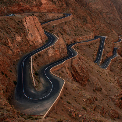 Moroccan road… straight out of a dream