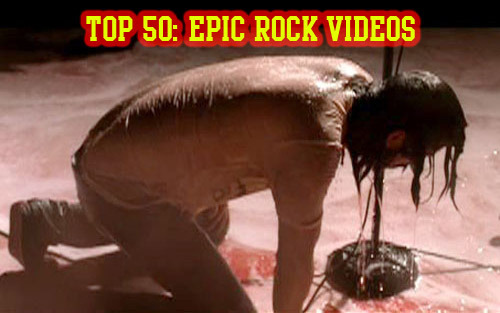 Later today on Scuzz we have our favourite countdown, The Top 50: Epic Rock Videos!  This show showcases the ultimate in video production, creative ideas and good execution - not to mention a shed load of amazing high caliber artists from Lamb of God, Pantera, Avenged Sevenfold, Bullet For My Valentine, Limp Bizkit, Paramore, Lostprophets and more!