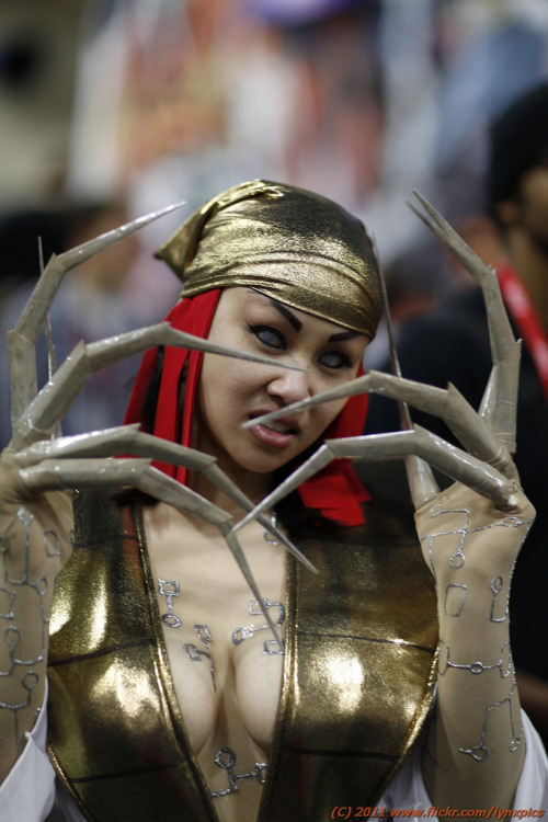 Lady Deathstrike Cosplay at San Diego Comic-Con 2011. Photo by LynxPics. (Source)