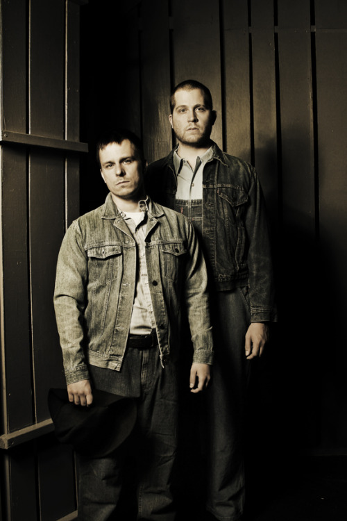 jesseboy:  Publicity photo for OF MICE AND MEN by John Steinbeck. Photo by Curtis Brown.
