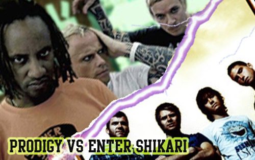 Tonight at 7pm we have a battle of electronica punk and metal with Prodigy taking on Enter Shikari in our next (pretty random) battle of the bands!