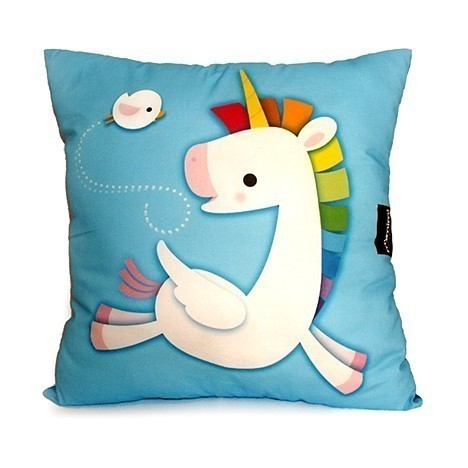 I want this sooo much! Rainbow Unicorn Deluxe Pillow by mymimi on Etsy
