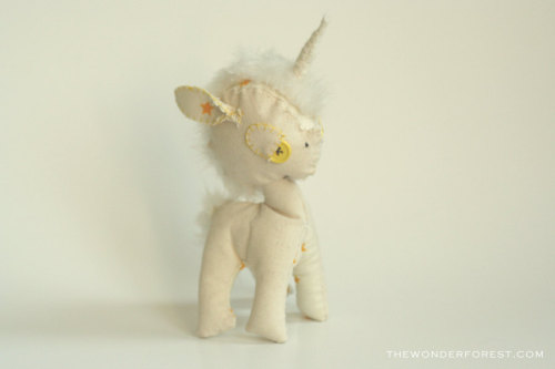 Yellow Star Unicorn by WonderForest
