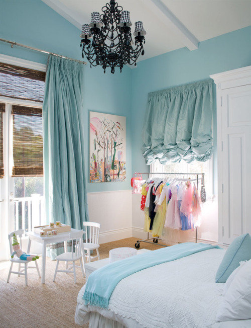 "robot-heart:  (via House of Turquoise: Windsor Smith ""Room in a Box"")"