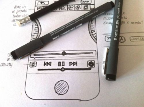 Nothing beats hand-drawn wireframes (via .net magazine)