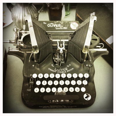 Love old typewriters.