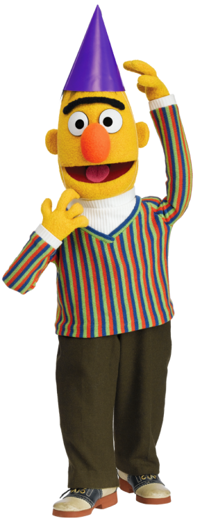 sesamestreet:  Happy birthday, Bert!