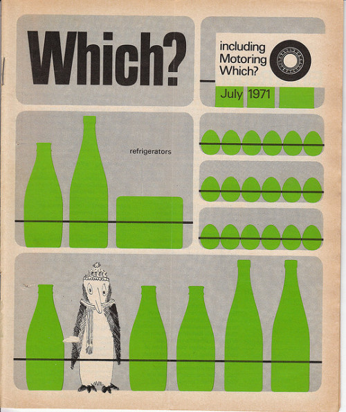 benjamincolourful:  Which? July 1971 by Sell!Sell! on Flickr.